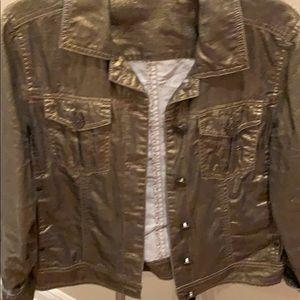 Chico bronze denim jacket